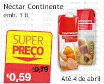 Super Preço | CONTINENTE | até 4 abril - Nectar