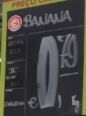 Bananas 0,79€ no Continente