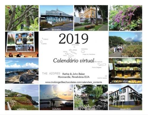 Capa do calendário 2019