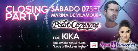 Pedro Cazanova e KIKA: