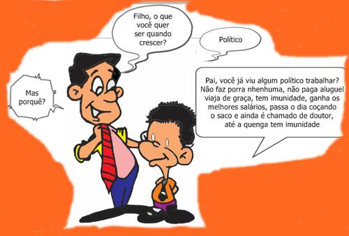 PROFISSÃO/POLITICO