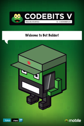 Codebits Bot Builder splash screen