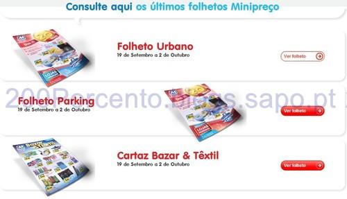 Folhetos Mini Preço de 19/09 a 02/10