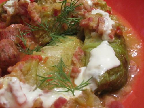 Gastronomia húngara - stuffed cabbage