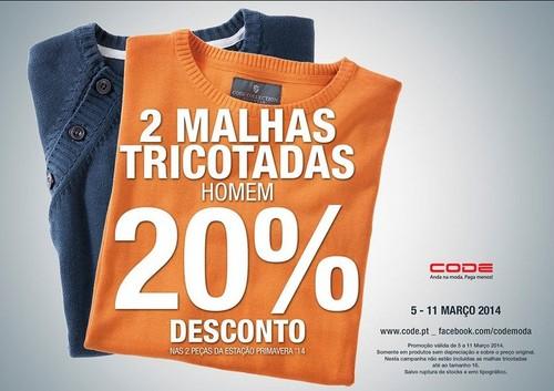 20% de desconto | CODE - PINGO DOCE | até 11 março