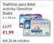 Super-Preço  | CONTINENTE | Toalhitas Dodot