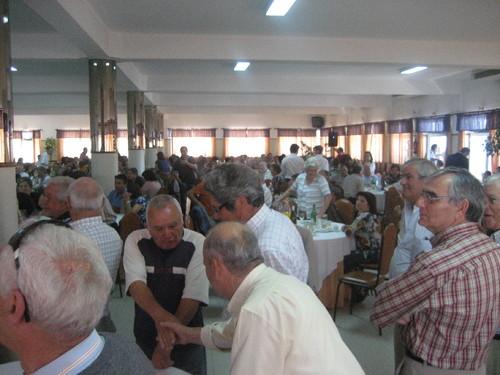 Vista geral dos participantes