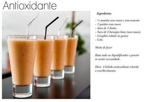 Antioxidantes, detox, coisas da moda