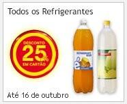 25% em refrigerantes | CONTINENTE |