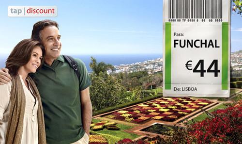 voos baratos TAP para a Madeira Funchal