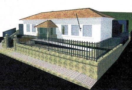 Projecto de transformação da EB1 de Bairros n.º 1 para Centro de Dia (formato em 3D)