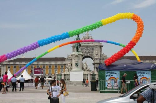 Arraial Pride Lisboa 2010 ao início da tarde