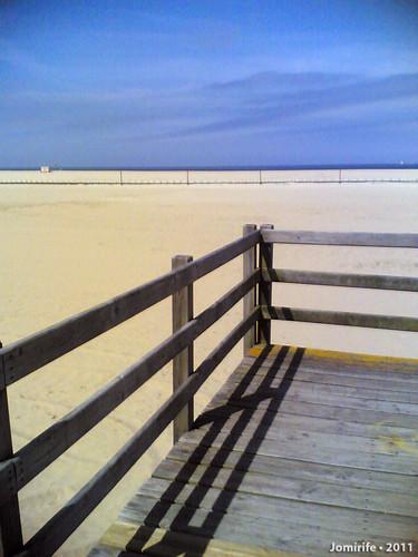 Oásis na praia da Claridade - Vista para o mar