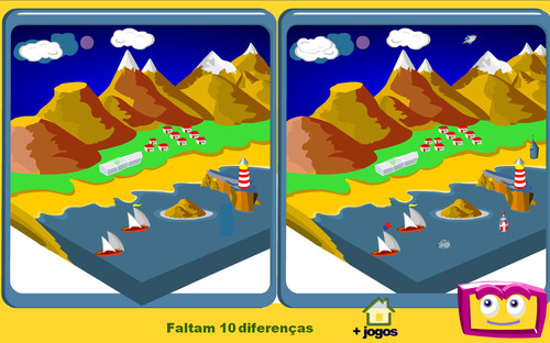 Resultado de imagem para jogo das diferenças