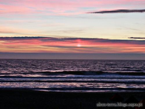 Pôr-do-sol, praia do Furadouro 15 de Julho de 2011