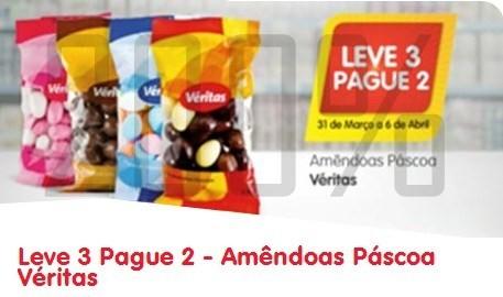 Leve 3 pague 2 | MINI PREÇO | Amendoas, de 31 março a 6 abril