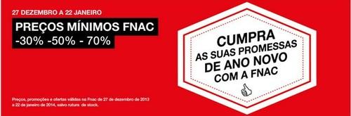 Promoções   FNAC   de 27 dezembro a 22 janeiro