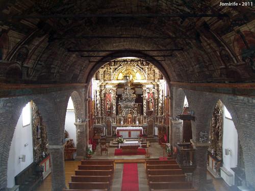 Castelo Bragança: Igreja de Santa Maria - 1º and