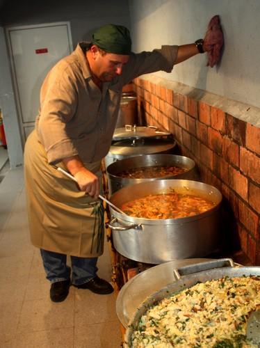 Paulo Areias, o cozinheiro de serviço...