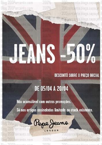 Novas promoções | FREEPORT | Spaccio e Pepe Jeans