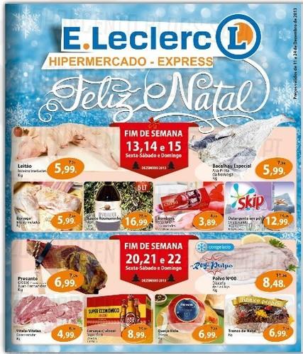 Antevisão Folheto | E-LECLERC | Chaves de 11 a 24 dezembro
