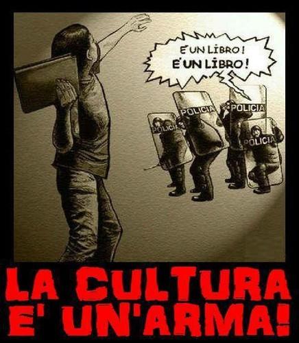 A Cultura é uma arma