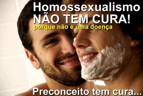 Homossexualidade não tem cura