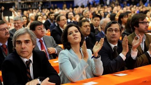 Assunção Cristas e outros dirigentes do PP Lusa.