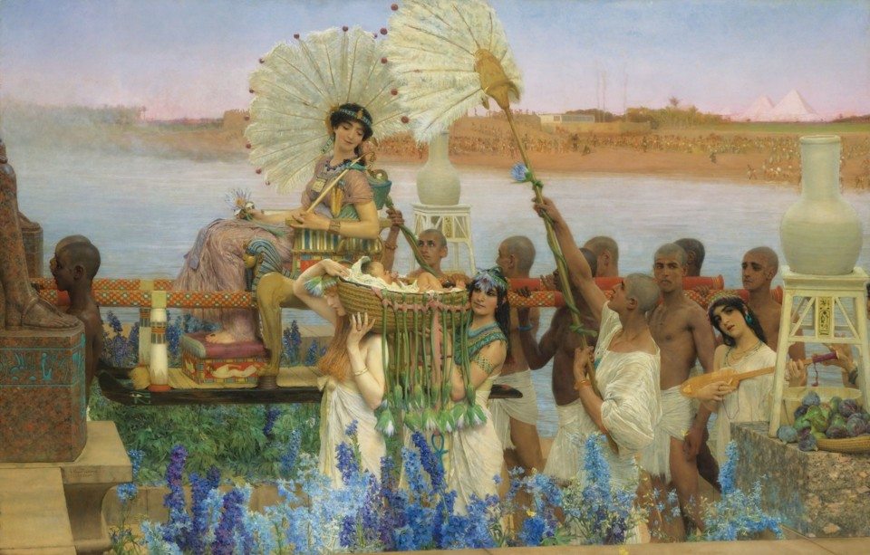 Sir_Lawrence_Alma-Tadema_-_The_finding_of_Moses.jp