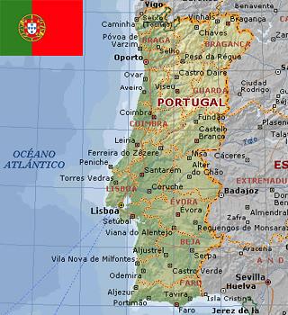 mapa de portugal com localidades CIDADES E LOCALIDADES MESMO NOME   PARÁ E PORTUGAL   luizpaulopina mapa de portugal com localidades