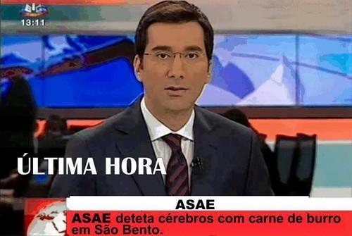 ASAE detecta carne de burro em São Bento