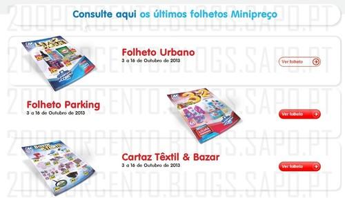 Novos Folhetos Mini Preço