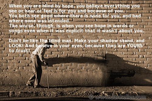 o homem cego