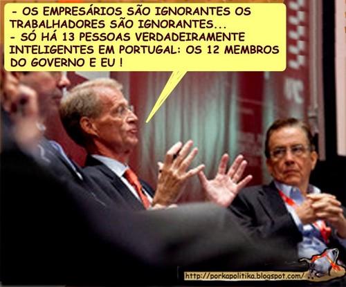 A Ignorância de António Borges