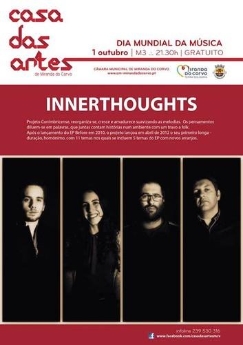 INNERTHOUGHTS AO VIVO na Casa das Artes