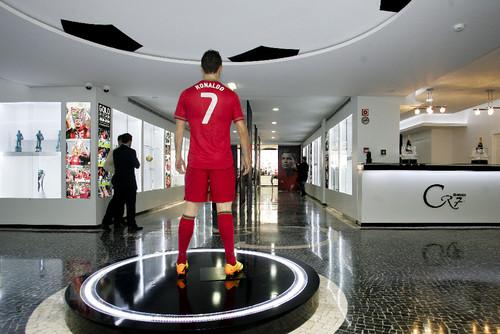 Inauguração Museu CR7