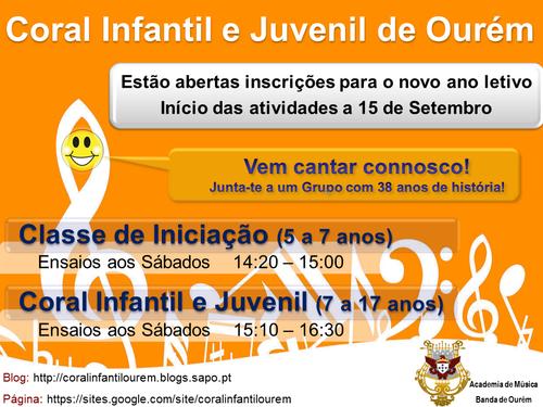 Coral Infantil e Juvenil - 2012/2013