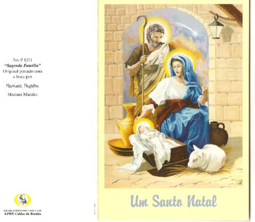 Um Santo Natal. Cartão APBP Caldas Rainha jpg