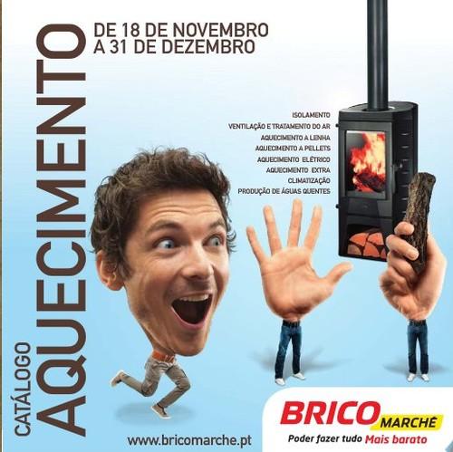 Novo Folheto / Catalogo | BRICOMARCHÉ | Aquecimento, de 18 novembro a 31 dezembro