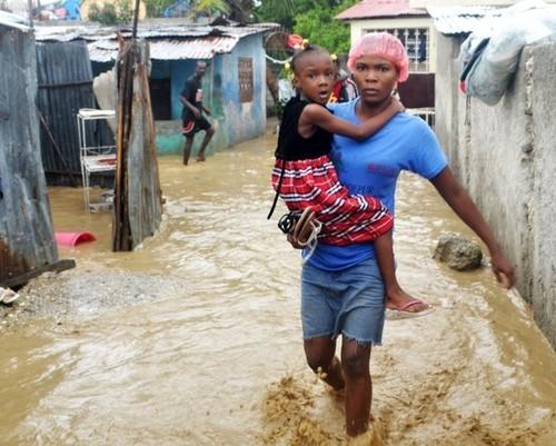HAITI - EPA; JEAN JACQUES AGUSTIN; epa03446508