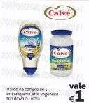 Maionese Yogonese Calvé, a 0,09€ de 11 a 21 Outubro no Continente