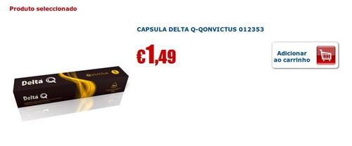 Cápsulas Delta Q | RÁDIO POPULAR | Qonvictus 1.49€