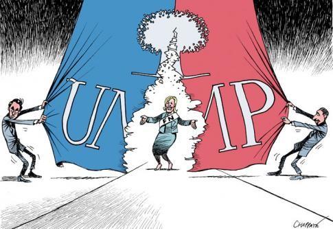Frente Nacional, UMP, fascismo