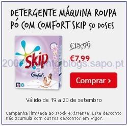 Skip pó com comfort 50 doses