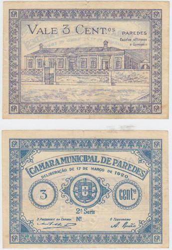 Cédula Municipal Paredes