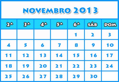 Coisas lá de Casa: Novembro 2013