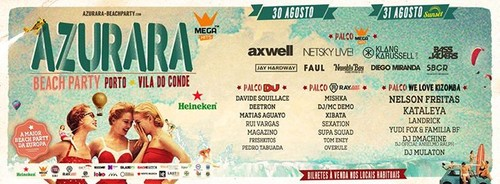 Azurara Beach Party: a Maior Beach Party da Europa