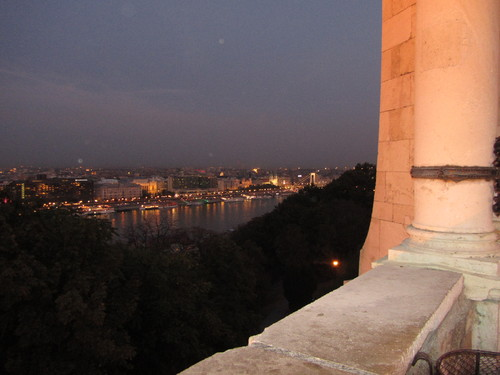 Budapeste - vista do Palácio Real
