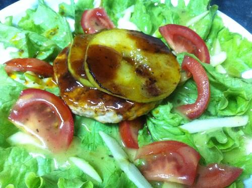 Hamburger de Perú agridoce