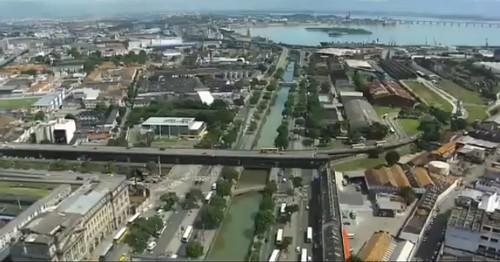 Av Francisco Bicalho, zona da Leopoldina, área do Projeto Porto Olimpico